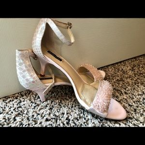 Alex Marie Mermaid Blush Heels